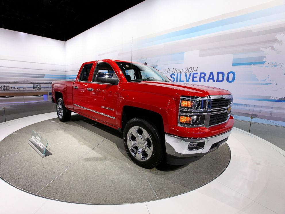 PHOTO: A 2014 Chevy Silverado on display at the 105th Annual Chicago Auto Show at McCormick Place in Chicago, Feb. 8, 2012.