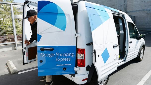 GTY google express mar 140505 16x9 608 Google and Amazon in Same Day Delivery Duel
