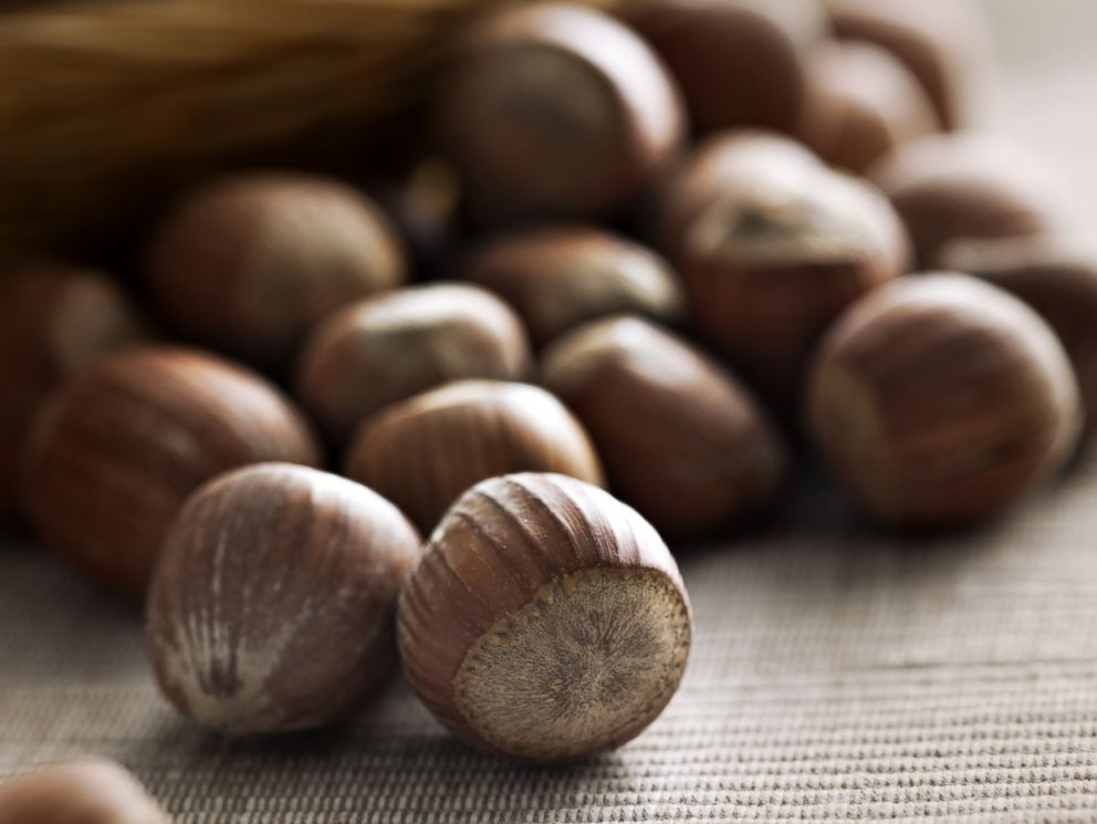 PHOTO: Hazelnuts are seen in this stock image.