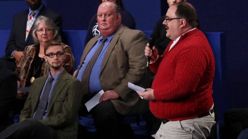 Ken Bone's Red Sweater Captivates Internet's Attention at Town ...