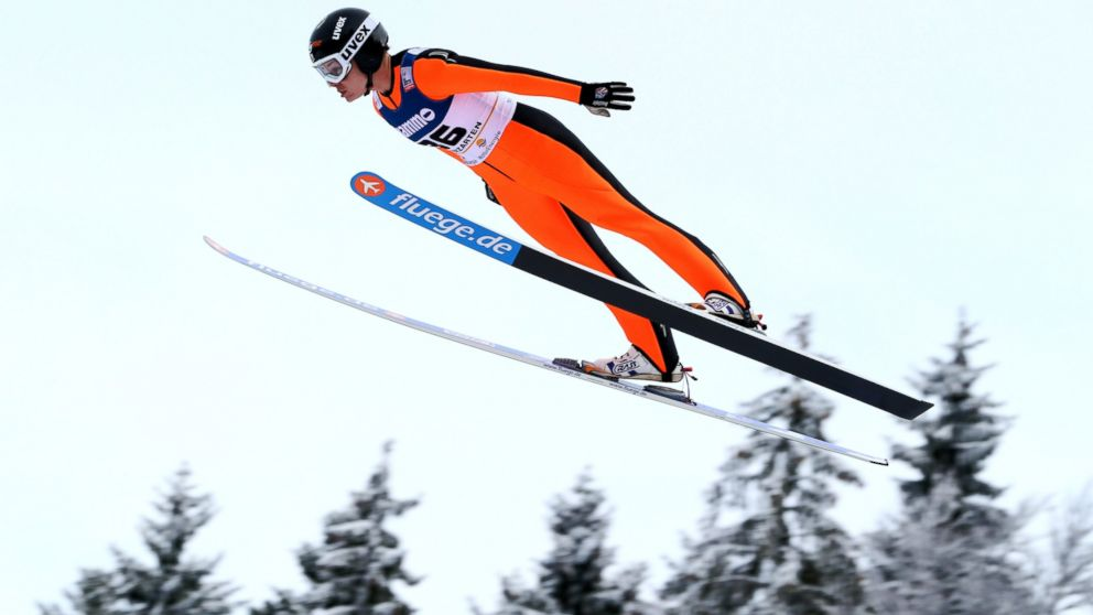 PHOTO: Lindsey Van of the USA competes during the during the FIS Ski Jumping World Cup Womens HS108, Jan. 12, 2013, in Titisee-Neustadt, Germany.