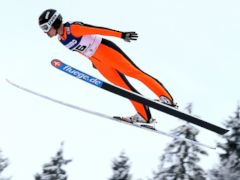 PHOTO: Lindsay Van of the USA competes during the during the FIS Ski Jumping World Cup Womens HS108, Jan. 12, 2013, in Titisee-Neustadt, Germany.