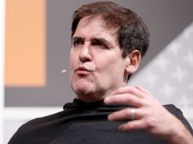 PHOTO: Mark Cuban speaks onstage at One On One with Mark Cuban during the 2014 SXSW, March 8, 2014, in Austin, Texas.