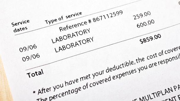 PHOTO: Patients, too, can negotiate discounts and greatly reduce their medical bills.