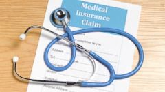 PHOTO: A medical insurance claim form is seen in this undated stock image.