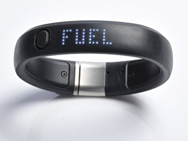 PHOTO: A Nike Plus Fuelband is shown on a white background, May 8, 2013.