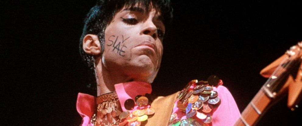 "PHOTO: Prince performing on stage for ""The Ultimate Live Experience Tour"" at Wembly Arena in the United Kingdom."