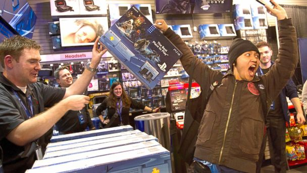 GTY ps4 launch jtm 131118 16x9 608 Hot Sales for Sony But PlayStation 4 Faces Questions