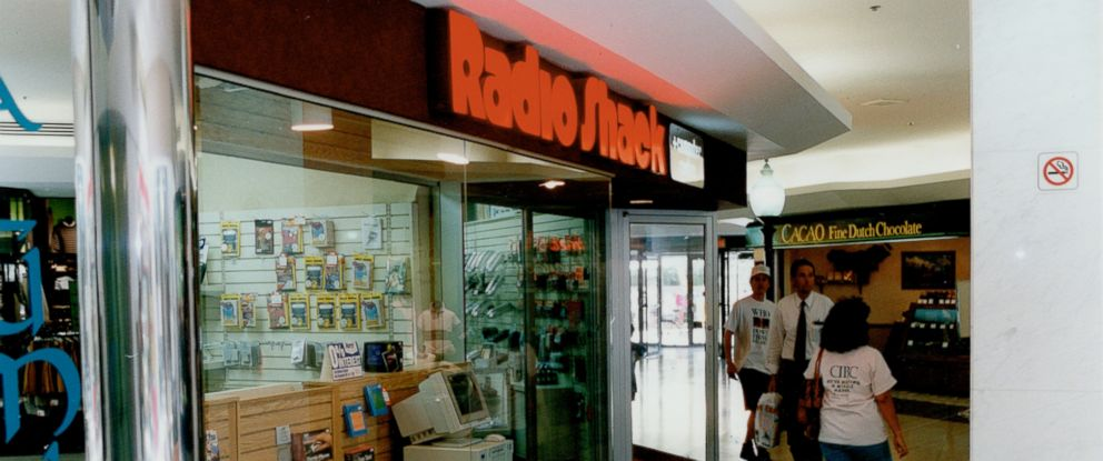 PHOTO: A Radio Shack is pictured on July 23, 1993.