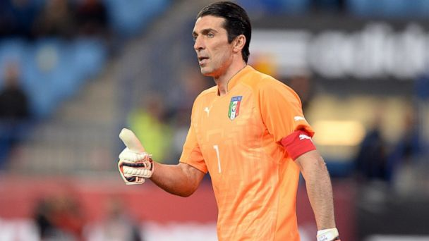 PHOTO: Gianluigi Buffon of Italy during the international friendly match between Spain and Italy