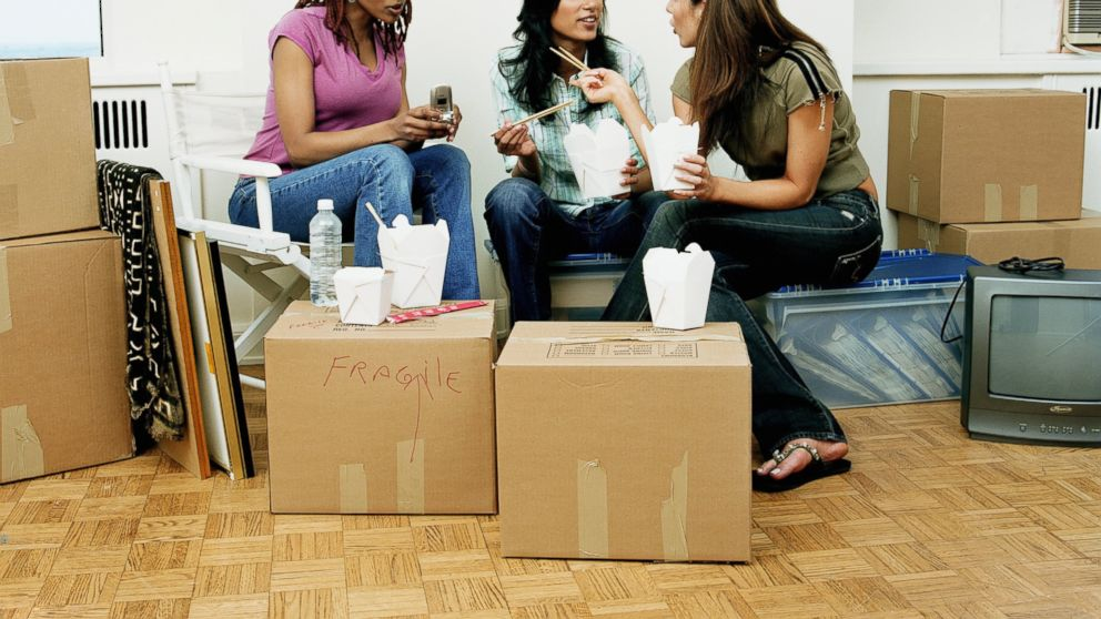 sharing an apartment with a roommate Having roommates saves money and provides valuable companionship  had just moved into a rental apartment from the home she had shared with her then-husband.