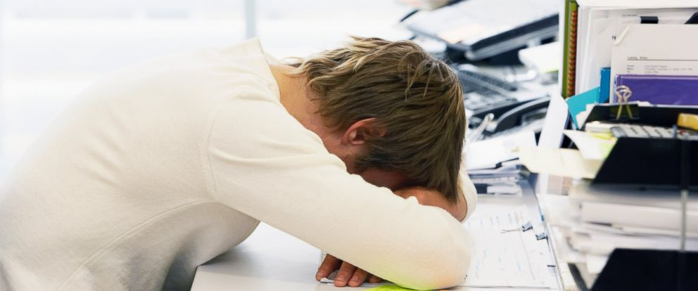 PHOTO: Career consultant and author Cynthia Shapiro named five ways to disguise your drowsy state.