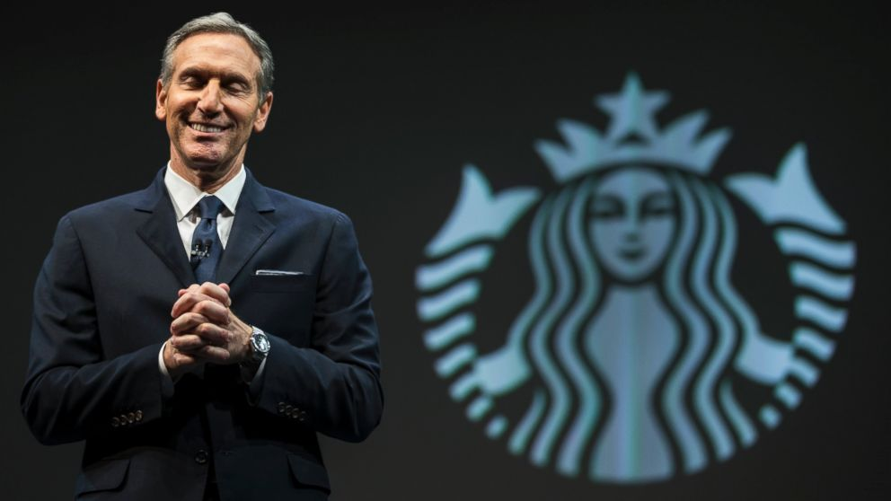 Starbucks CEO Howard  Schultz  Will Step Down, Take on New Role