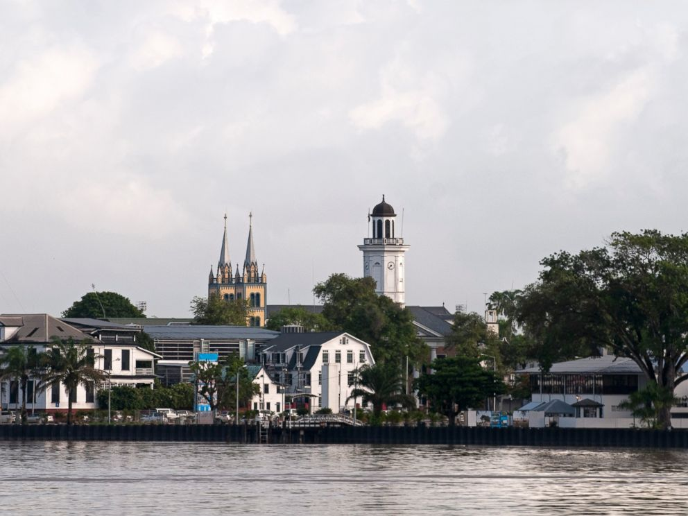 PHOTO: View of Paramaribo in Suriname, South America