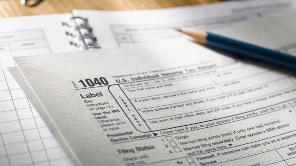 GTY tax form kab 140220 16x9 608 Tax Tip: Take the Standard Deduction or Itemize?