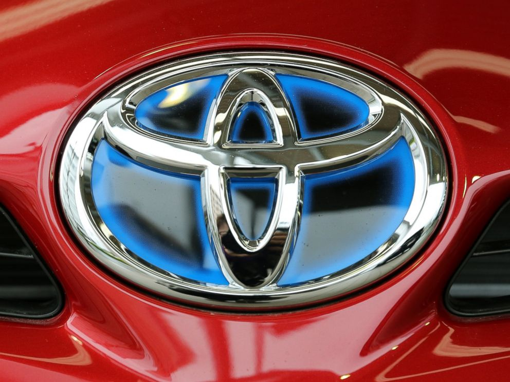 PHOTO: A Toyota logo is seen in Japan on March 29, 2015.