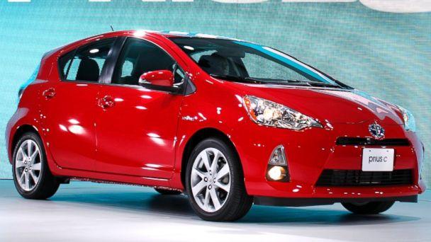 PHOTO: 2012 Toyota Prius C hybrid