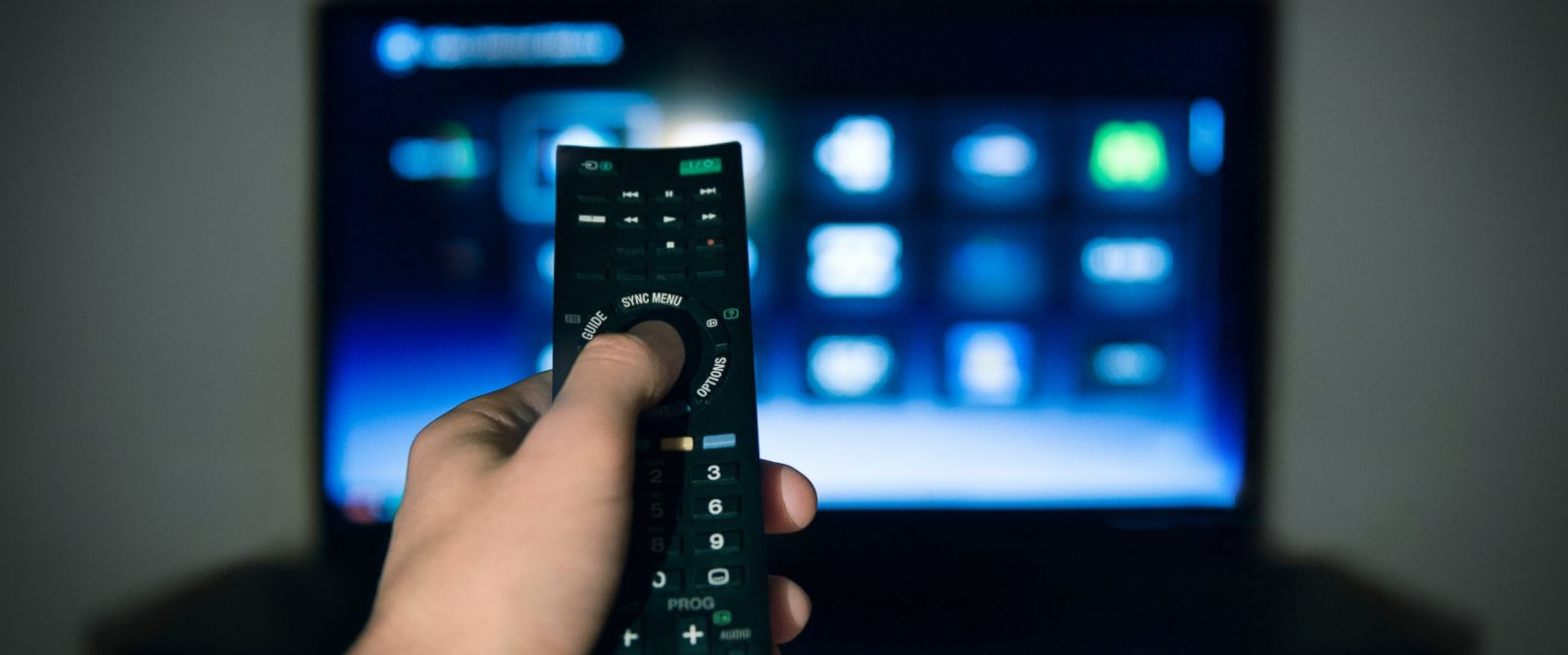 PHOTO: A person is seen watching TV in this stock image.
