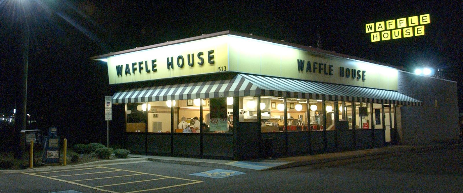 PHOTO: The Waffle House restaurant chain in Winston-Salem, North Carolina, Jan. 24, 2005.
