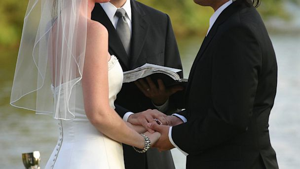 GTY wedding lpl 130912jpg 16x9 608 Triskaidekaphobia Cuts Suit Sales, Mens Wearhouse Says