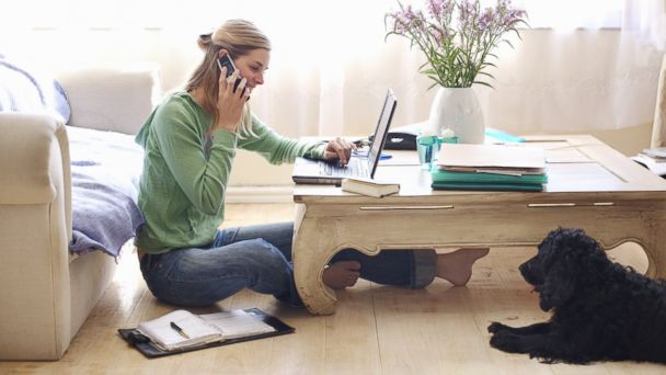photo here are 10 real jobs that you can do from home - Working In Home Office