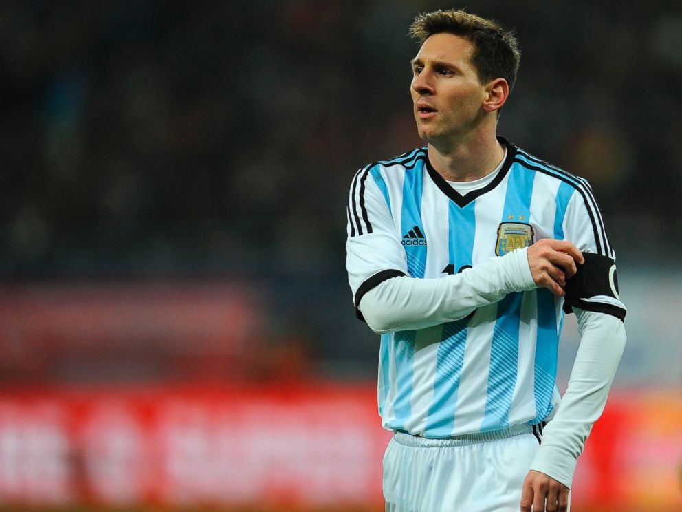PHOTO: Lionel Messi of Argentina