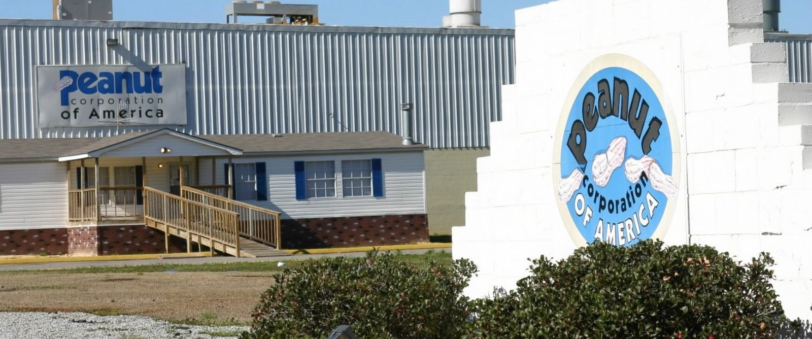 PHOTO:The Peanut Corporation of America facility is seen in this file photo, Feb. 16, 2009, in Blakely, Ga.