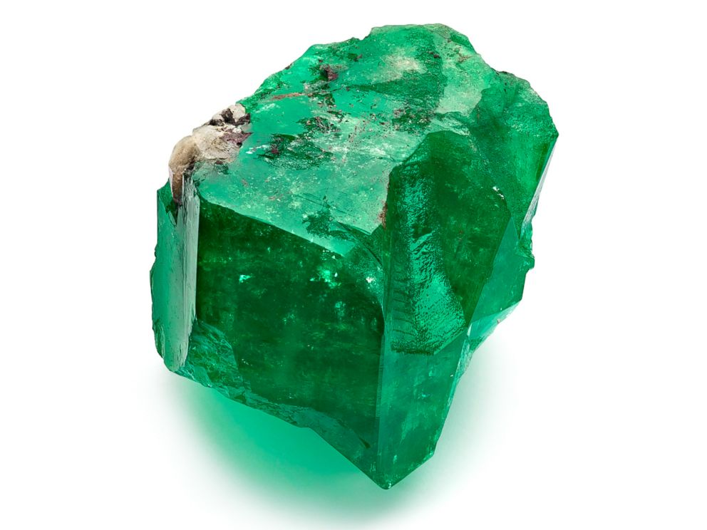 Rare 887-carat emerald up for auction