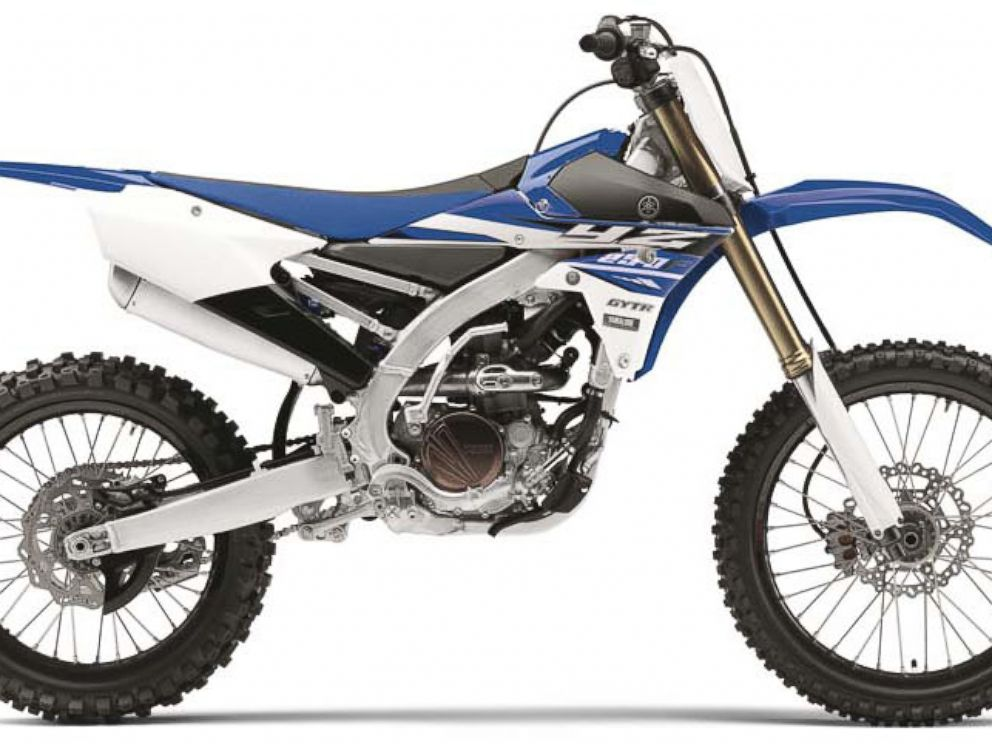 PHOTO: The Yamaha 2015 model YZ250.