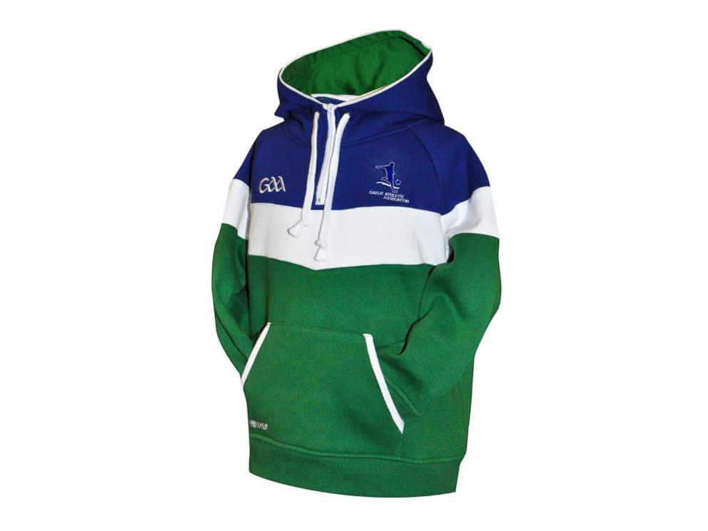 PHOTO: The Croker Kids GAA fleece panel hoodie.