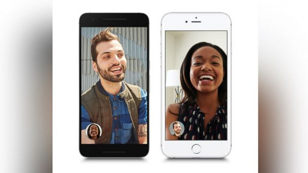 PHOTO: Google launches 'Google Duo' an app to compete with FaceTime and Skype.