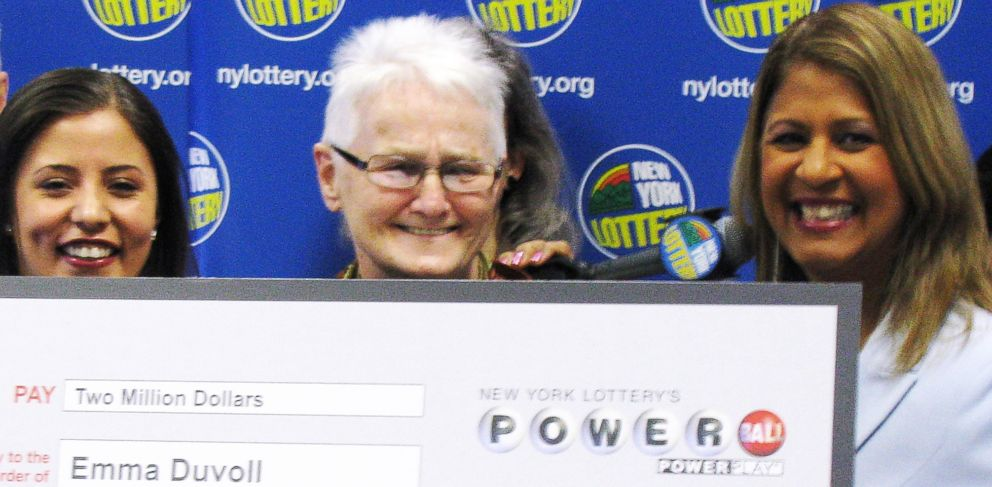 PHOTO: Emmy Duvoll won a $2 million Powerball jackpot.