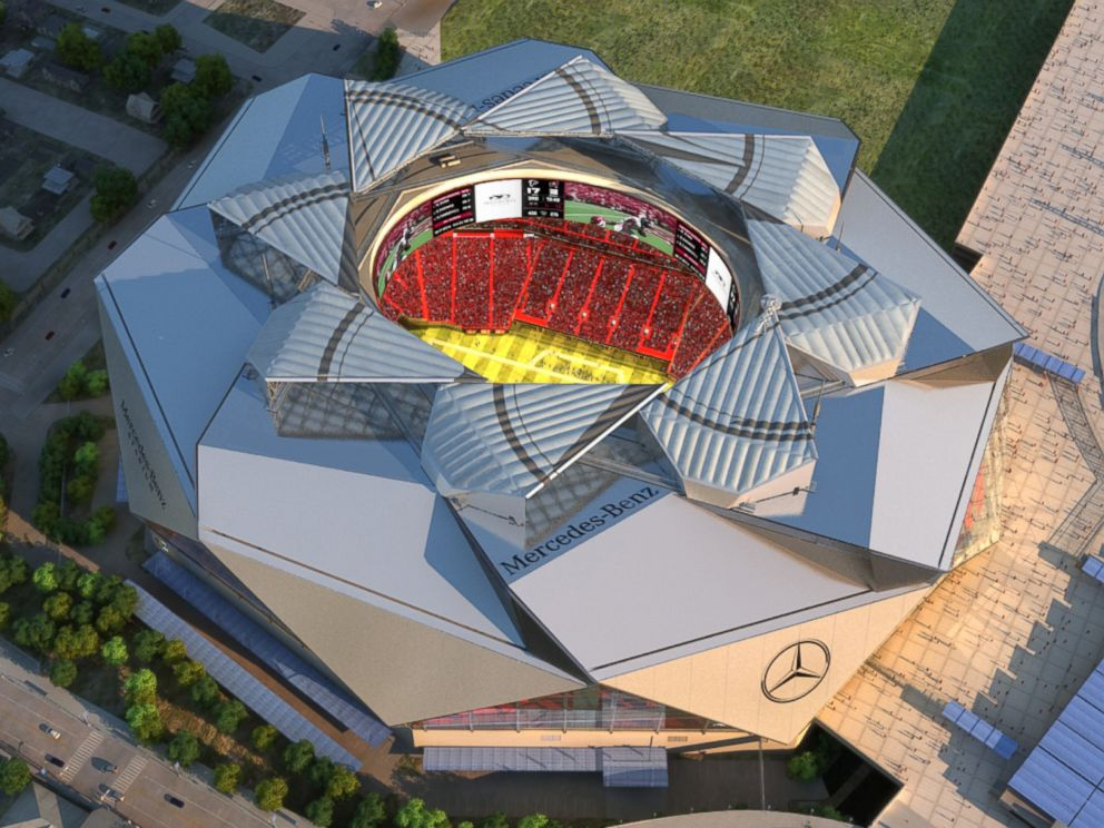 Nfl 39 s atlanta falcons putting an end to price gouging on for Mercedes benz stadium price