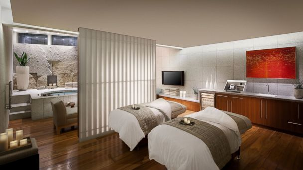 PHOTO: The Couples Spa Romance Package is priced at $1,090.