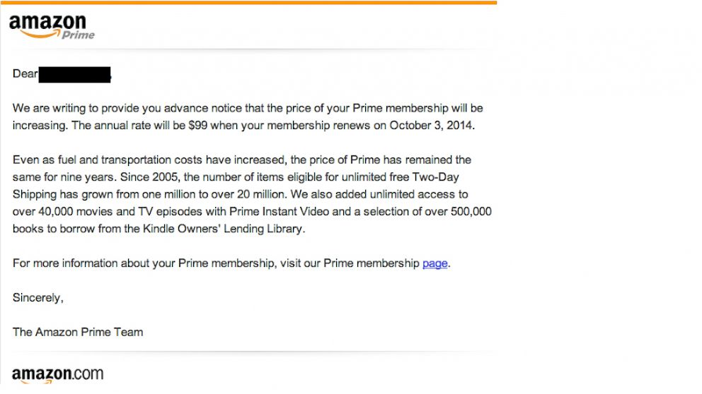 Amazon Cites Fuel, Transportation Costs for Prime Membership Price ...