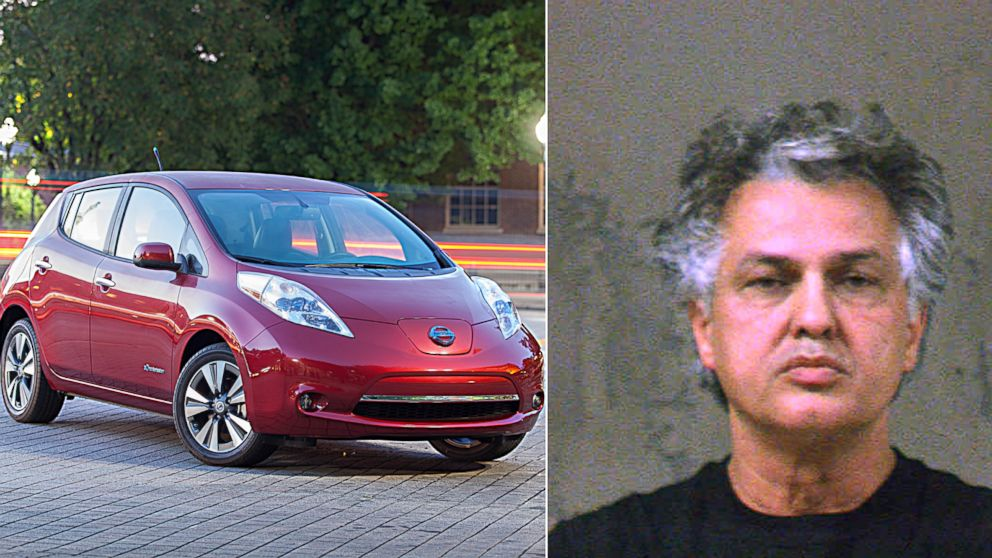 PHOTO: Kaveh Kamooneh was arrested for charging his electric car with an exterior outlet at Chamblee Middle School in Chamblee, Ga