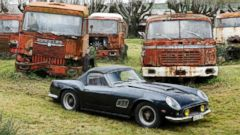 PHOTO: Rare Cars Discovered on French Barn to be Auctioned