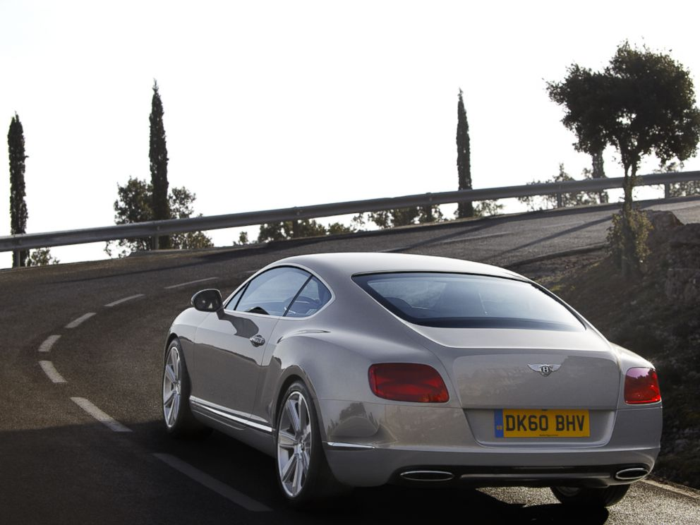 PHOTO: Luxury British carmaker Bentley says more millennials are buying and leasing the Continental GT, shown here.