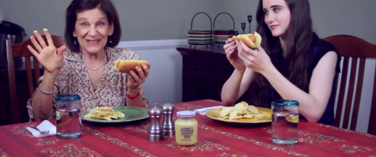"PHOTO: The fake Grey Poupon Ad, seen in this video grab, has various characters answering the question ""What do you Poupon?"" is being taken in stride by Kraft Foods."