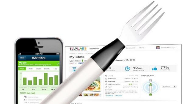 PHOTO: HAPIfork Bluetooth-Enabled Smart Fork, $99.99