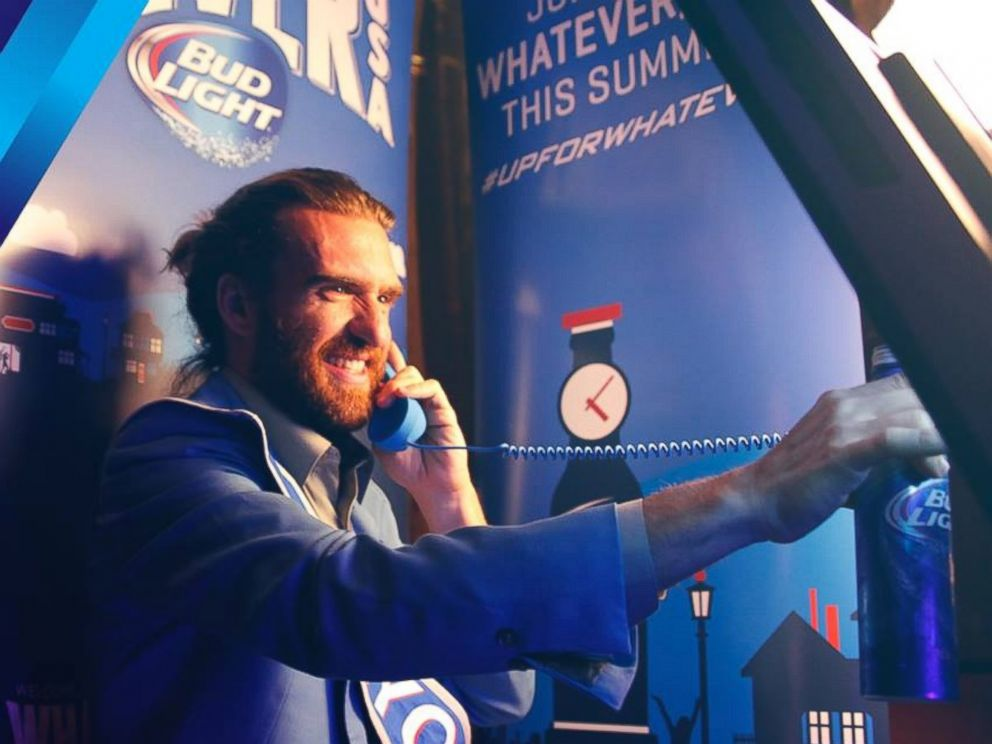 PHOTO: The mayor of Whatever, USA, is seen in this Bud Light promotional image.