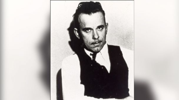 PHOTO: John Dillinger is seen in this undated file photo.
