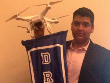 NJ Teen Says Firms Signing Up for His Drone Ad Company