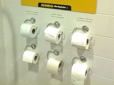 Supermarket Lets Customers Test Toilet Paper