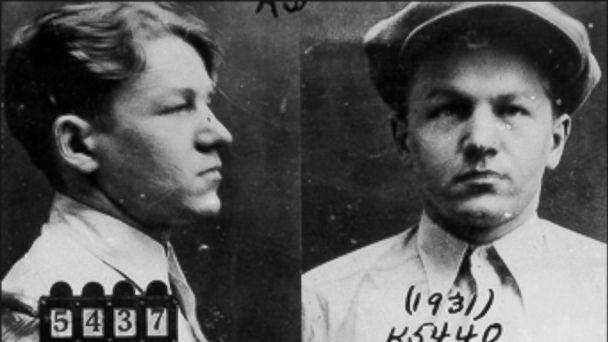 PHOTO: Lester M. Gillis, better known as Baby Face is seen in this undated file photo.