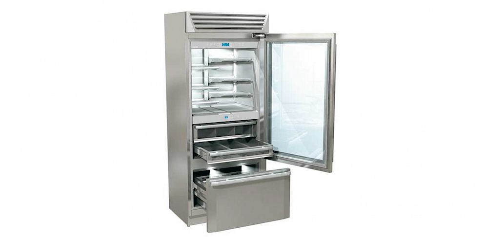 PHOTO: Fhiaba Series MG Stand Plus MG8991TST6/3U, a $10,000 Italian-made refrigerator