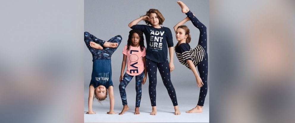 """PHOTO:The pulled ad for Gap Kids featured a youth cirque company called """"Le PeTiT CiRqUe."""""""