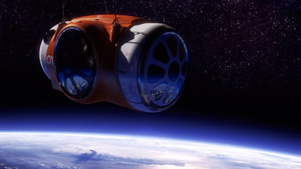 Space tourism news photos and videos abc news for Outer space travel
