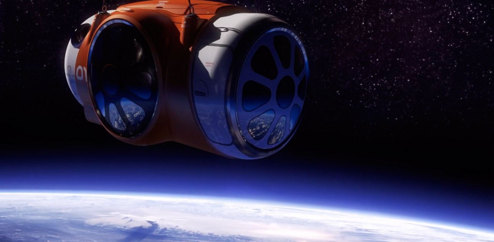 PHOTO: Rides to space via helium balloon by 2016.