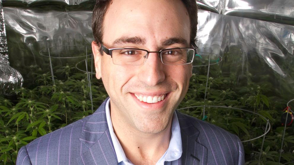 "Business school drop-out Justin Hartfield wants to raise $10 million to be the ""Anheuser Busch of marijuana."""
